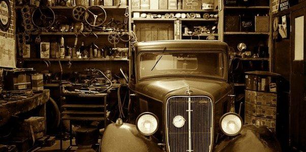 Werkstatt-Garage